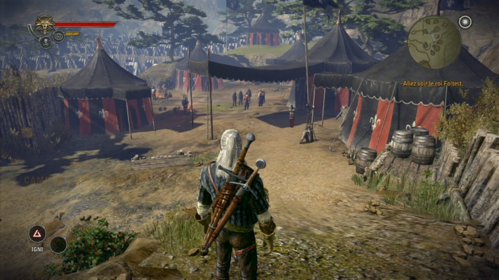 the witcher 2 camp overlook
