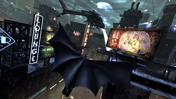 Batman Glides like a boss