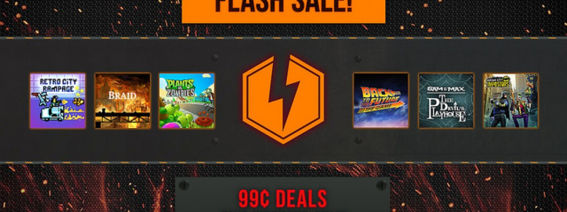 PlayStation Store FLASH SALE!  30 Games for $.99 Each