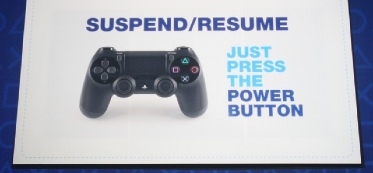 Suspend/Resume FINALLY Coming to PS4