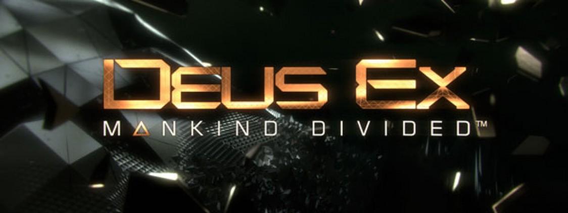 Deus Ex: Mankind Divided Dated [UPDATED]