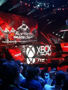 play gears again on the xbox one, even though you could for free, this one is updated with 1080p and 60fps multiplayer