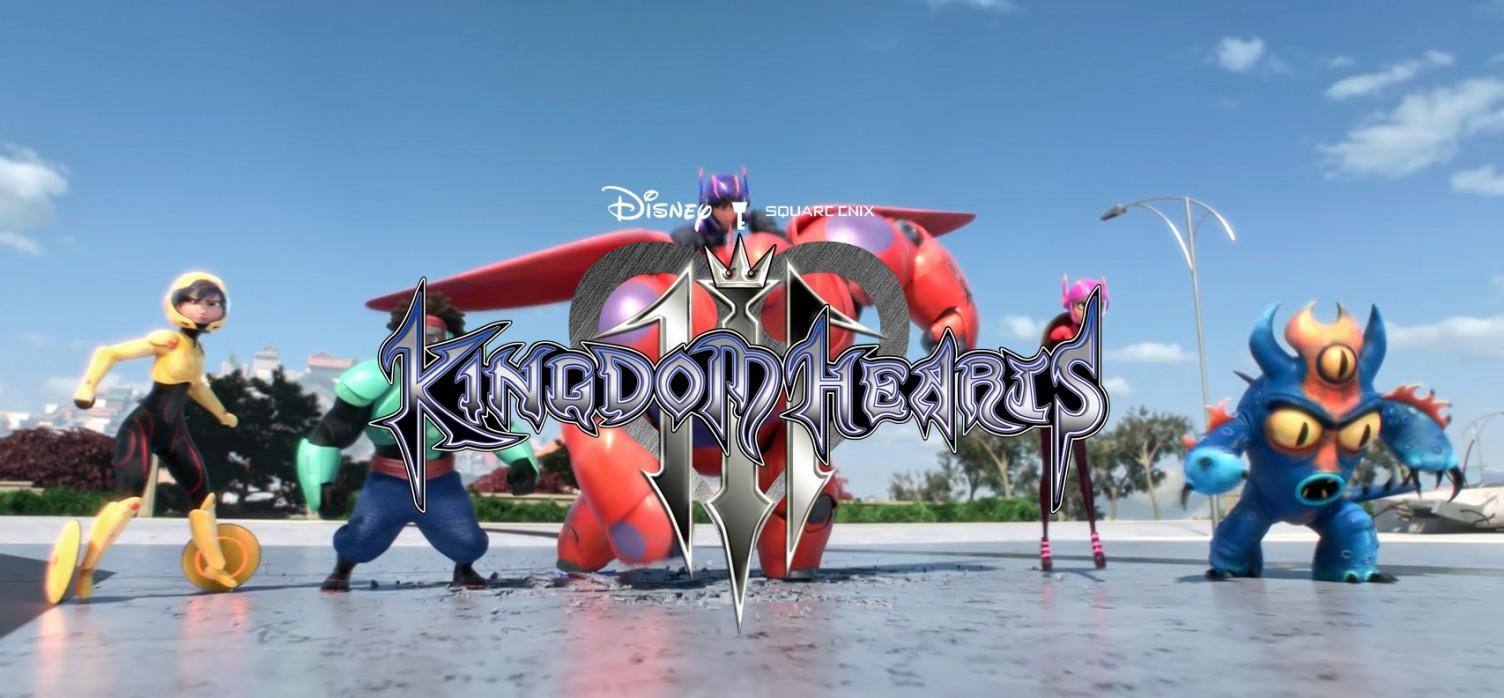 Big Hero 6 Will Be In Kingdom Hearts III