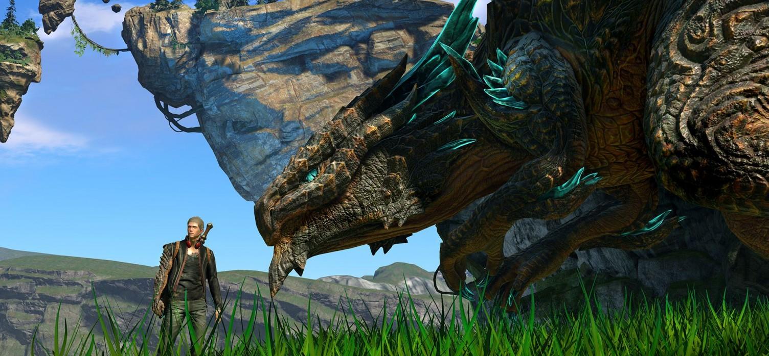 Scalebound Gameplay Shown of at Gamescom