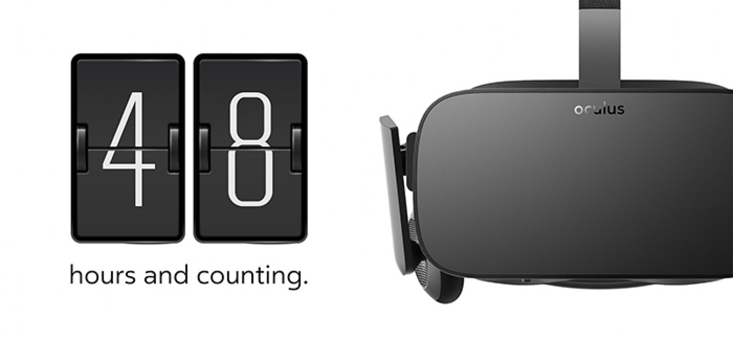 Oculus Rift Preorders Start Wednesday