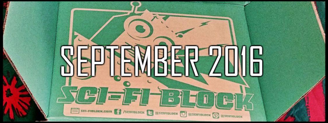 NerdBlock's Sci-Fi Block Unboxing: September 2016
