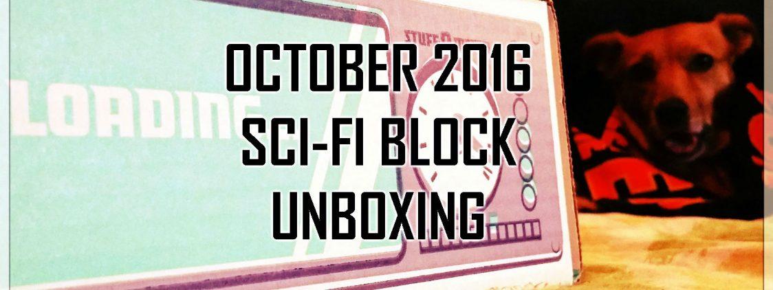 NerdBlock's Sci-Fi Block Unboxing: October 2016