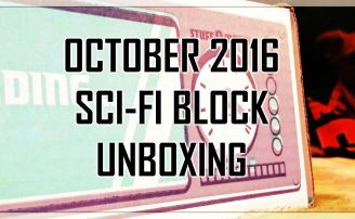 NerdBlock's Sci-Fi Block Unboxing: October 2016