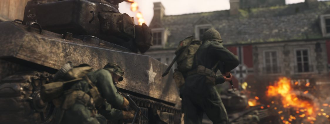 E3 2017: Call of Duty WWII First look