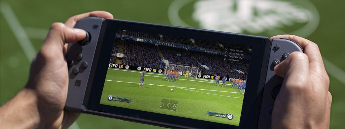 E3 2017: FIFA 18 on the Nintendo Switch
