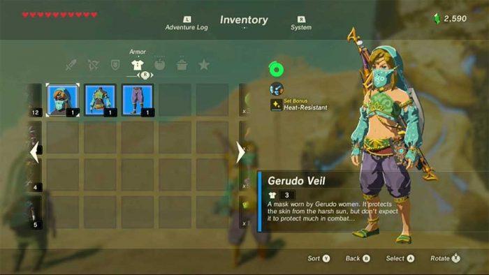 Gerudo-Set-Zelda
